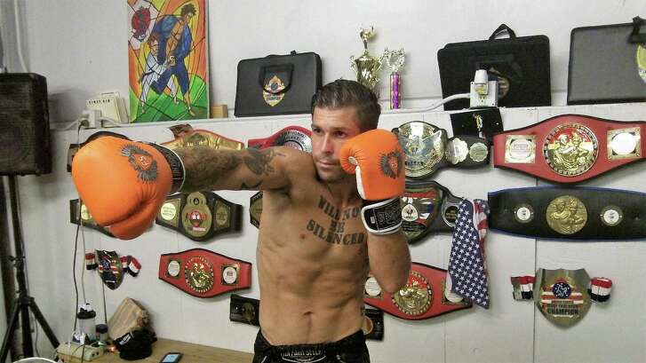 Revolution Dojo's Samuel Mongonia, 29, won his first Muay Thai national championship in 2014, but has been most prolific in the last year, taking his last 10 fights.