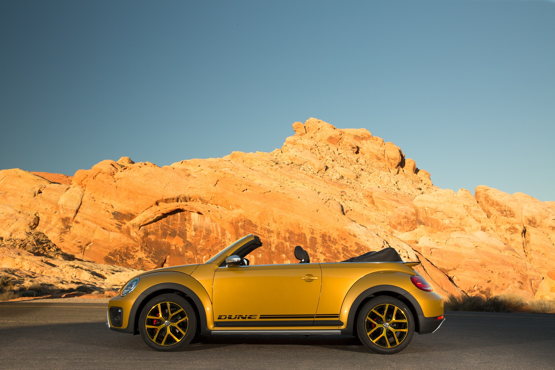 2017 VW Beetle Convertible carries Dune distinction