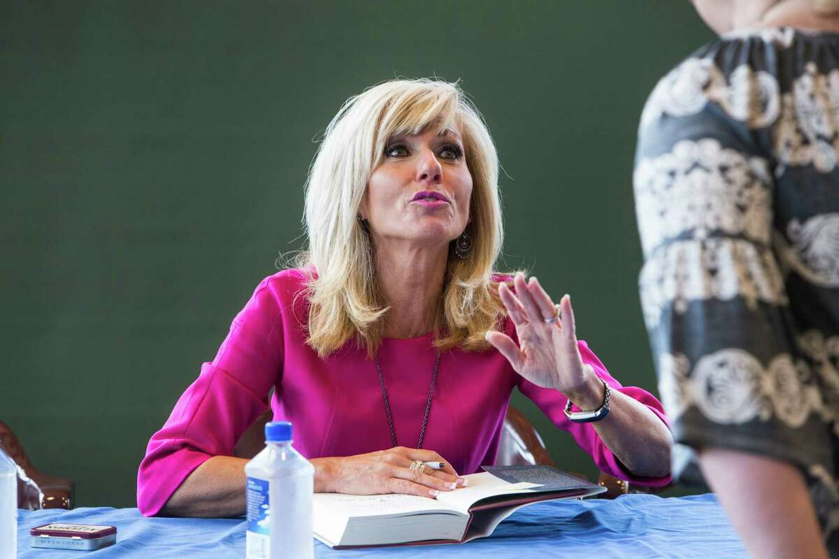 Beth Moore Who she is: Author.Founder of Living Proof Ministries, a Houston-based Evangelical organization for women. Texas Monthly description: