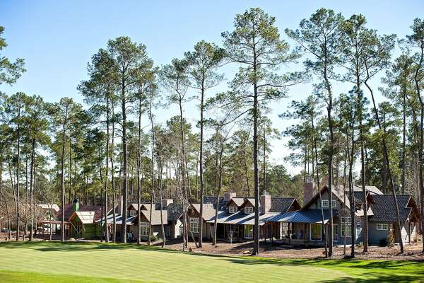 The cottages at the Bluejack National golf course development in Montgomery.