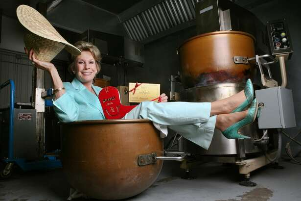 I like this image of Susie Hitchcock Hall, owner of Susie's South Forty, because I was worried that she would be against the idea of me photographing her sitting inside of her custom made brass cookers.  The idea sparked when she said she was most proud of her custom made cookers which have helped to increase her toffee production by 40 percent. When I pitched my idea to her she was more than happy to work with me.  Cindeka Nealy/Reporter-Telegram