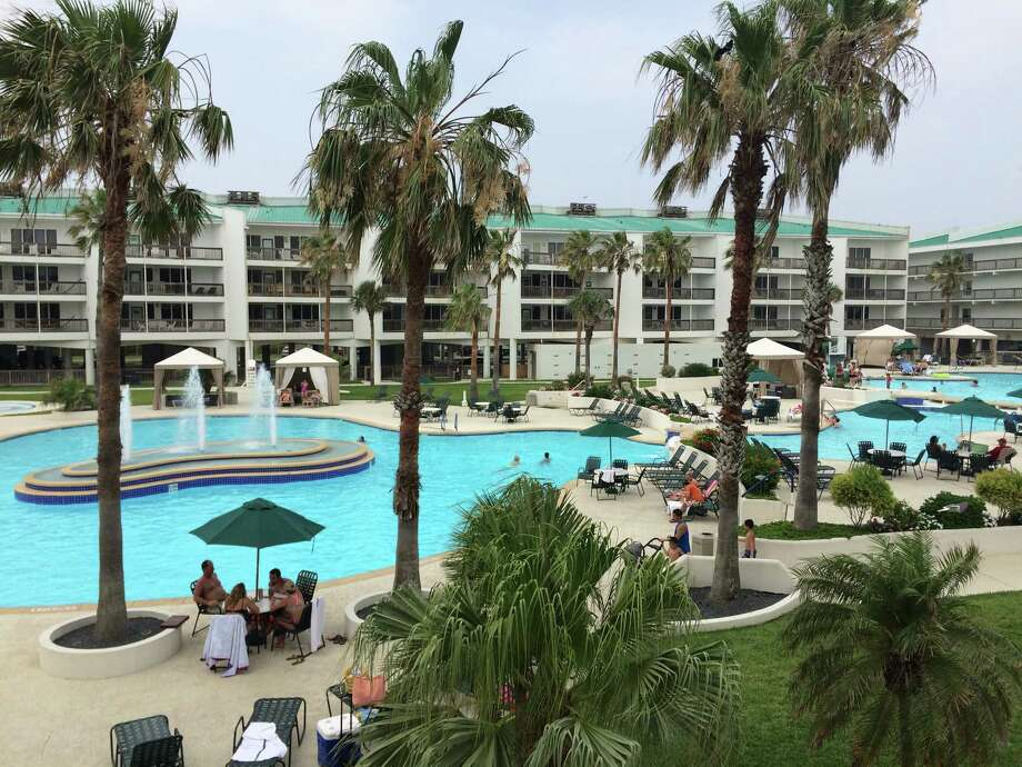 The Port Royal Ocean Resort and Conference Center is a popular place for families that enjoy the choice of great pools or quick access to the beach in Port Aransas. Photo: Terry Scott Bertling / San Antonio Express-News