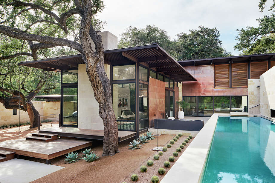 Citation Award winner: Olmos Park Residence: San Antonio, Lake|Flato Architects Photo: Courtesy AIA San Antonio