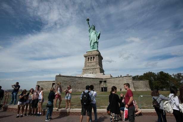 Statue of Liberty Island September 21, 2015  © Julienne Schaer