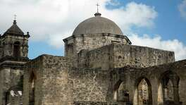 Mission San José celebrates its tricentennial this year. The mission was founded in 1720, though moved to its current location around 1730.