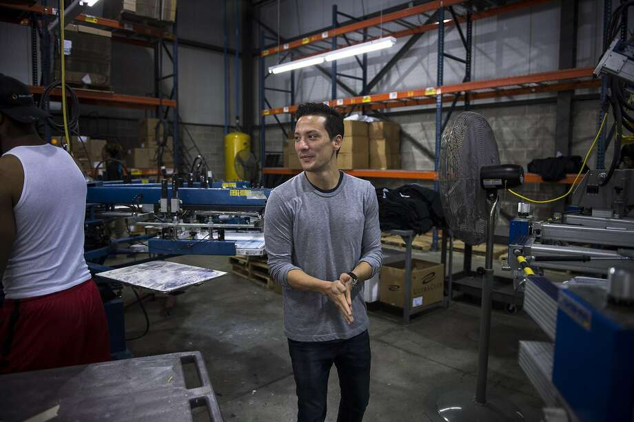 Michael Nemeroff, president of Printfly, a T-shirt printing business, says offering a 401(k) plan has been a great tool for recruiting and retaining employees at his business in Philadelphia. Photo: CHARLES MOSTOLLER, NYT
