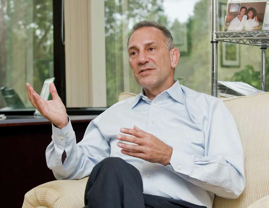 Shatterproof CEO Gary Mendell, two years into the nonprofit's work to help people with the ravages of addiction, in his office at 101 Merritt 7 in Norwalk. Tuesday, Sept. 20, 2016 Photo: Scott Mullin / For Hearst Connecticut Media / The News-Times Freelance