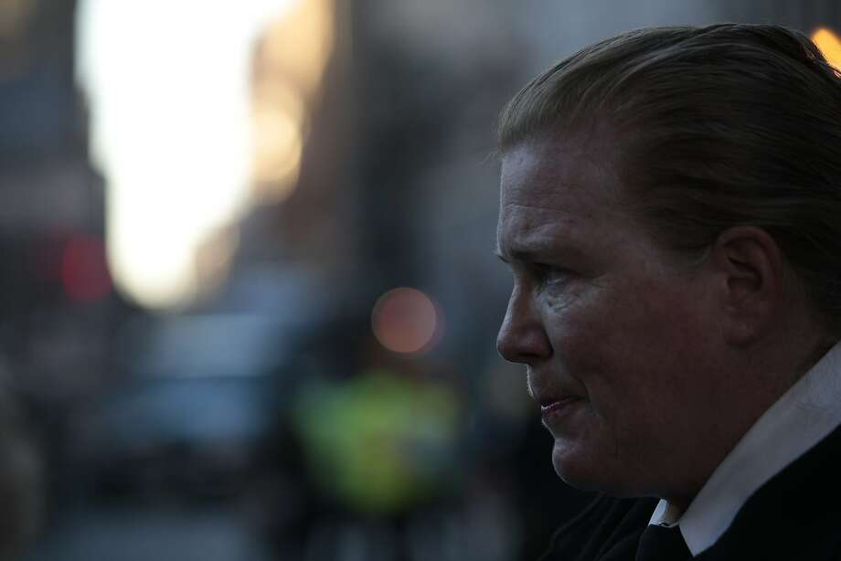 San Francisco Fire Chief Joanne Hayes-White said allegations of harassment by male firefighters against a female co-worker at Station 2 in Chinatown don't reflect the department as a whole. Photo: Nathaniel Y. Downes
