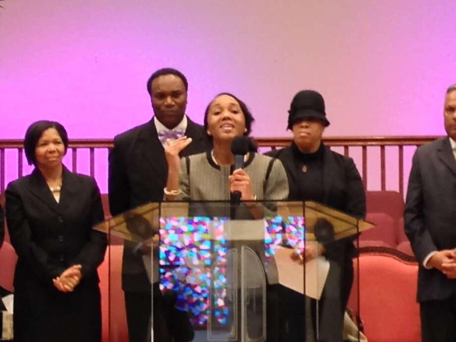 Jamilah Prince-Stewart, executive director of FaithActs Photo: Linda Conner Lambeck / Linda Conner Lambeck