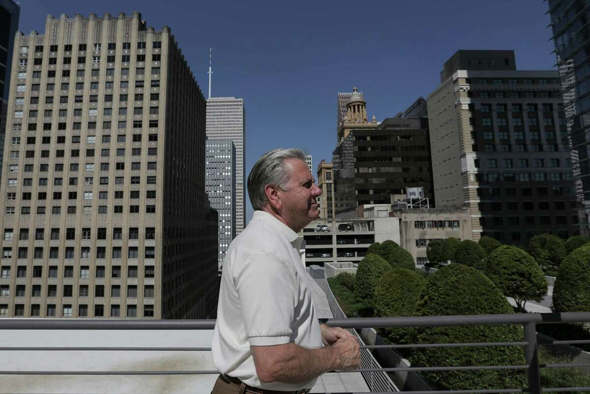 William Franks began restoring downtown buildings in Houston in the late 1990s.
