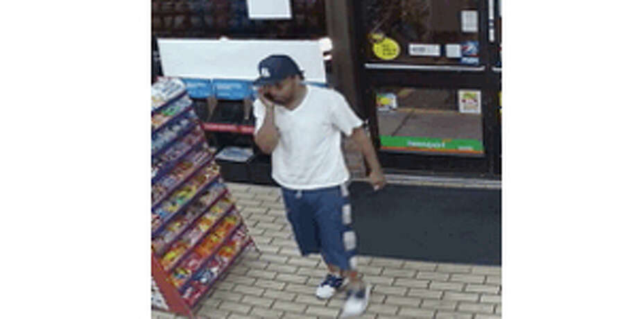 Police said security footage captured multiple suspects robbing the 24/1 Express store on 1607 Barnum Avenue at about 2:30 a.m. Thursday morning, before fleeing the scene in a vehicle together.