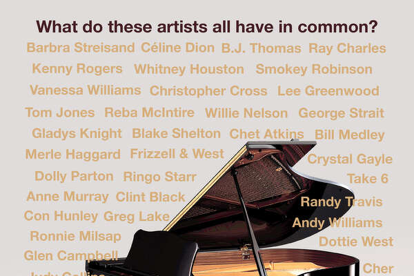 Composer Steve Dorff will be at the Danbury Palace on Saturday, Oct. 1, to perform many of his popular songs. Some of the artists who have recorded his songs are shown on the above poster.