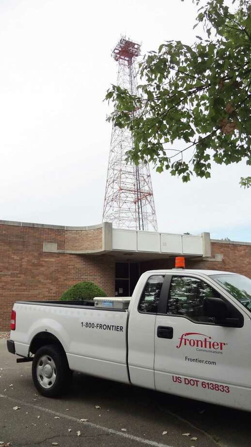 In September 2016, Cushman & Wakefield listed for sale a Frontier Communications vehicle dispatch center and cellular tower located at 10 Willard Rd. in Norwalk, Conn. Photo: Alexander Soule / Hearst Connecticut Media / Stamford Advocate