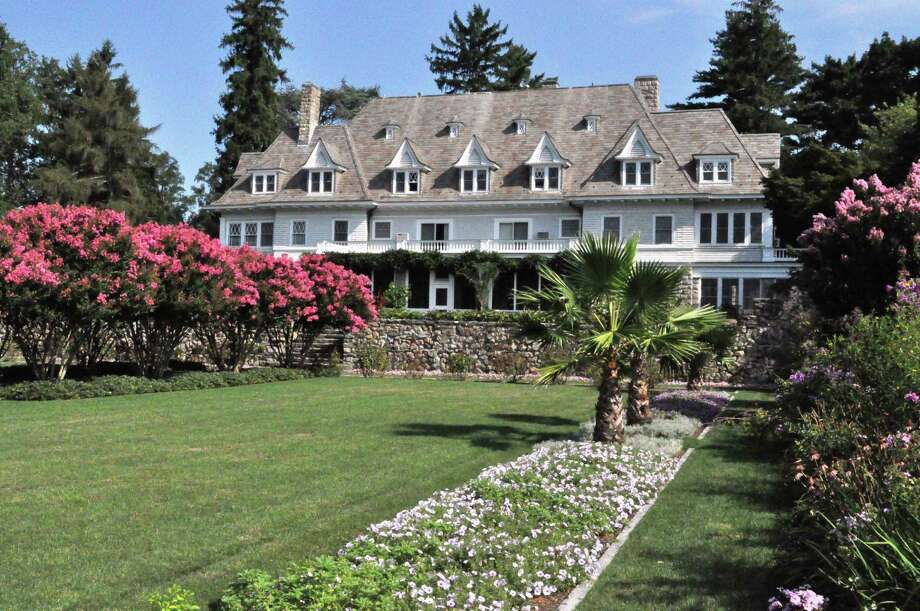 Copper Beech Farm, a 50-acre compound on the waterfront of Greenwich, Conn., was the most expensive sale at $120 million in an analysis of homes that sold for more than $10 million between 2007 and 2015. The property boasts a carriage house with a clock tower, co-joined heptagonal pools, a greenhouse, wine cellar and grass tennis court. Photo: David Ogilvy & Associates / David Ogilvy & Associates / Greenwich Time contributed