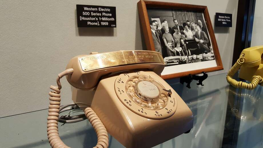Houston's 1 millionth phone. Photo: Dan Feldstein, ATT