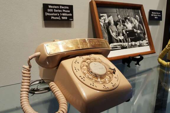 Houston's 1 millionth phone.