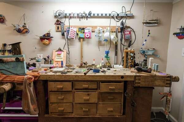 Wendy Marciano's workshop.
