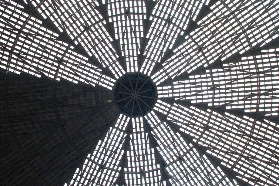 The iconic ceiling of the Astrodome. Photo: Steve Gonzales/Houston Chronicle
