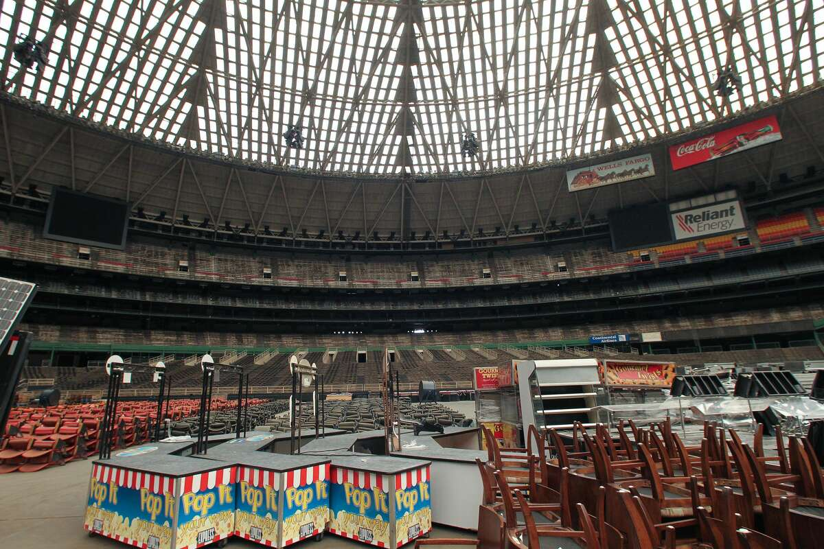 MYTH: An army of cats lives in and controls the inside of the Astrodome. VERACITY: The only thing inside the Dome is equipment for NRG Stadium, some old Dome seats, and some Houston sports memories.