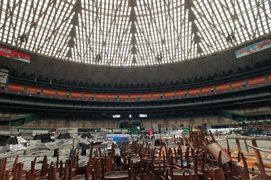 see what the inside of the astrodome looks like today