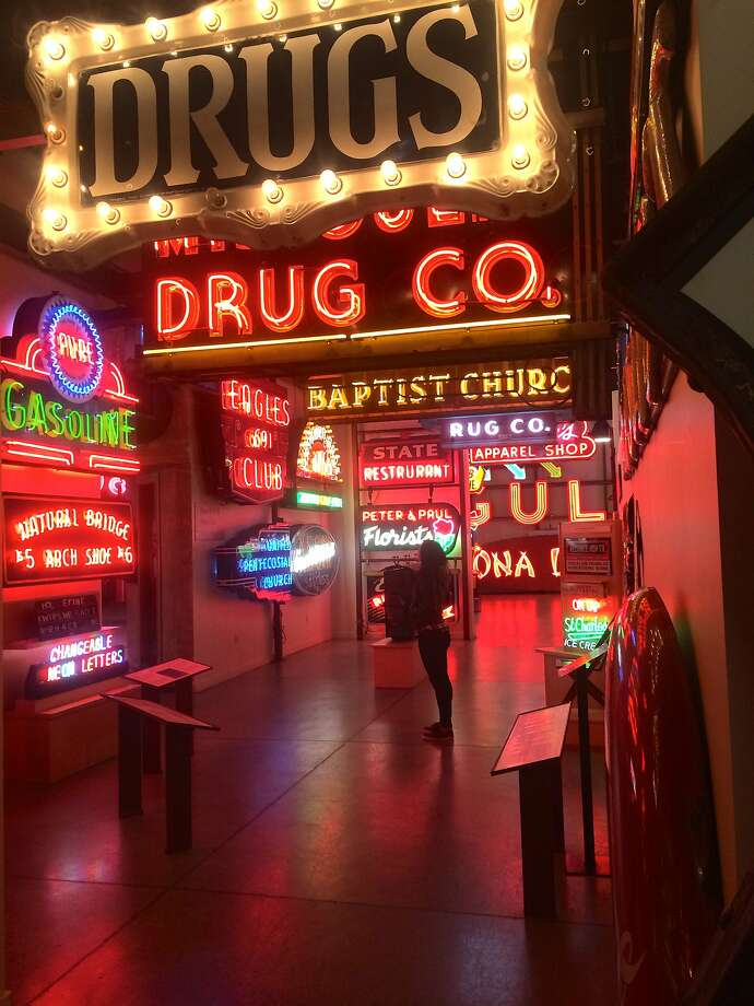 American Sign Museum, Cincinnati: Get buzzed on neon at this ode to old-school Americana. Photo: April Packwood