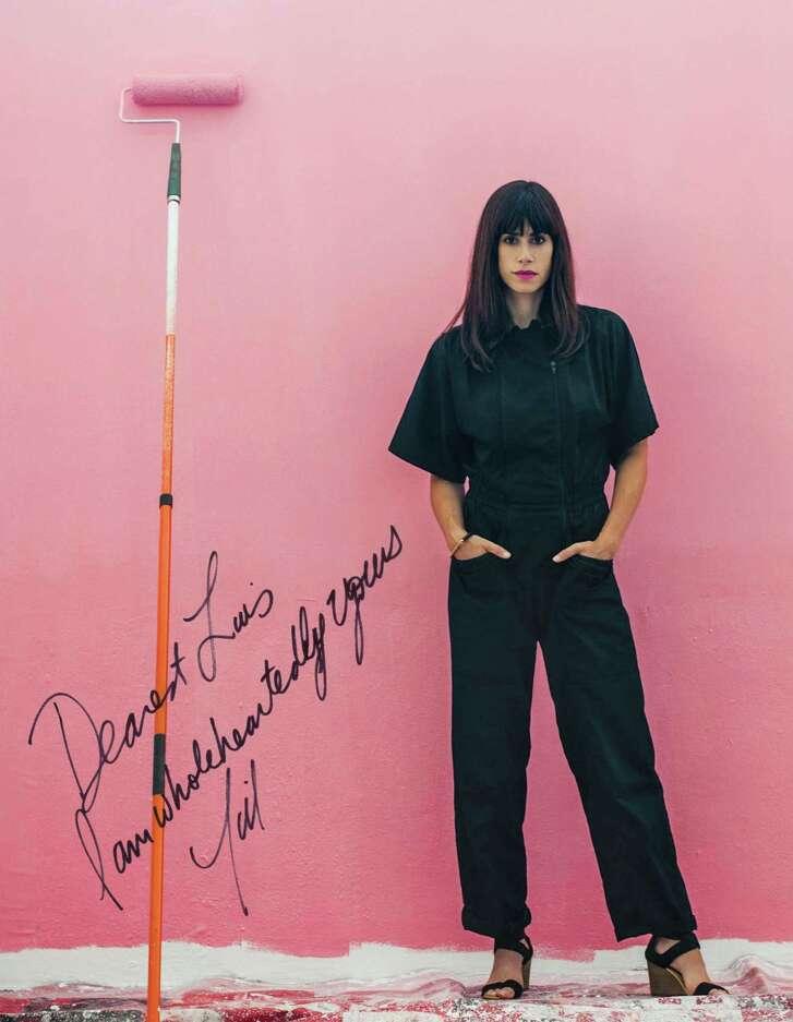 The artist Jill Magid in Flaunt magazine, Dec. 2014