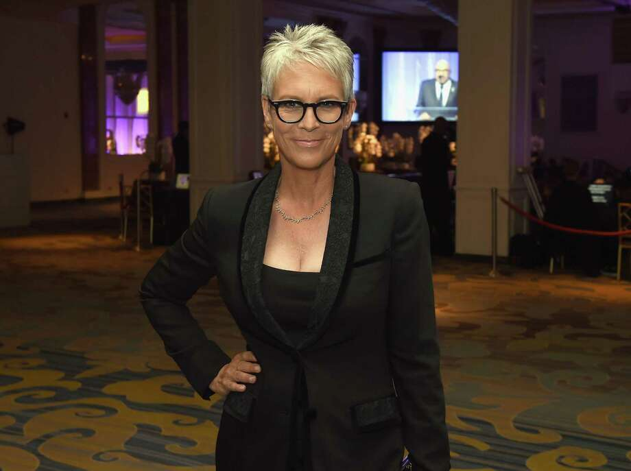 Jamie Lee Curtis was one of several celebrities who took to Twitter to blame President Trump for the Hawaii ballistic missile false alarm. Photo: Kevin Winter, Staff / 2016 Getty Images