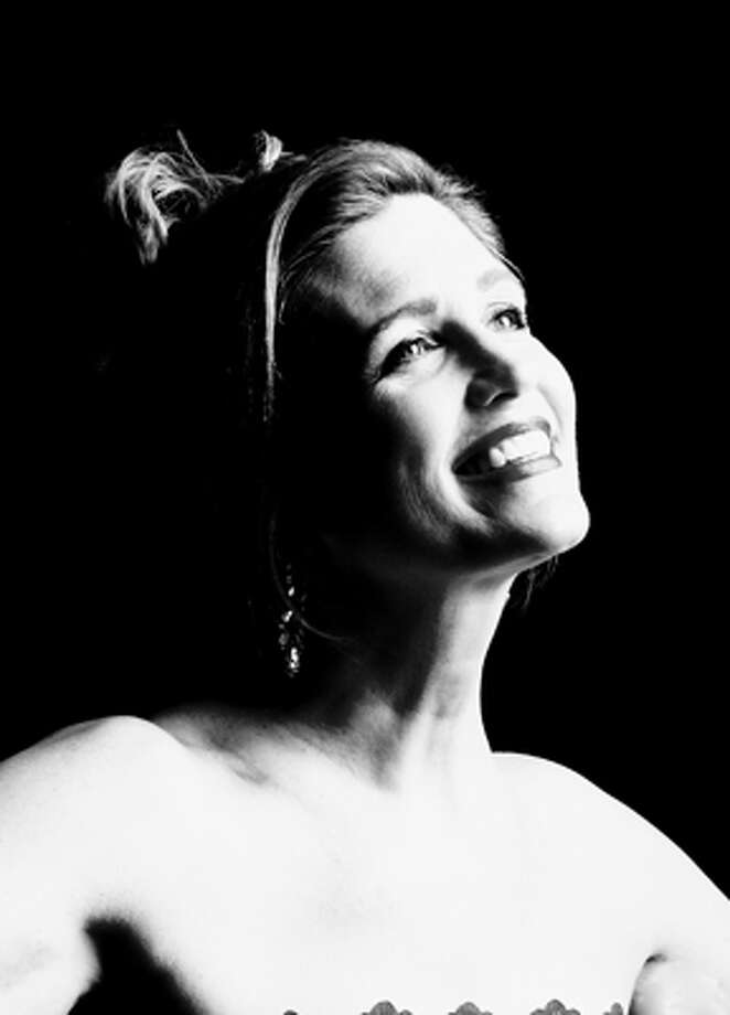 Soprano Diane Penning sang during the San Antonio Symphony's Pops concert Friday night. Photo: Courtesy