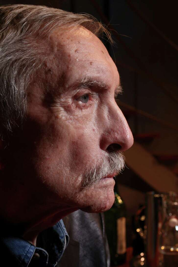 FILE — Edward Albee, the foremost playwright of his generation, at the Signature Theater in New York, Feb. 29, 2012. Albee, whose astute and piercing dramas explored the the gap between self-delusion and truth and the roiling desperation beneath the facade of contemporary life, died at home in Montauk, N.Y. on Sept. 16, 2016. He was 88. (Chester Higgins Jr./The New York Times)