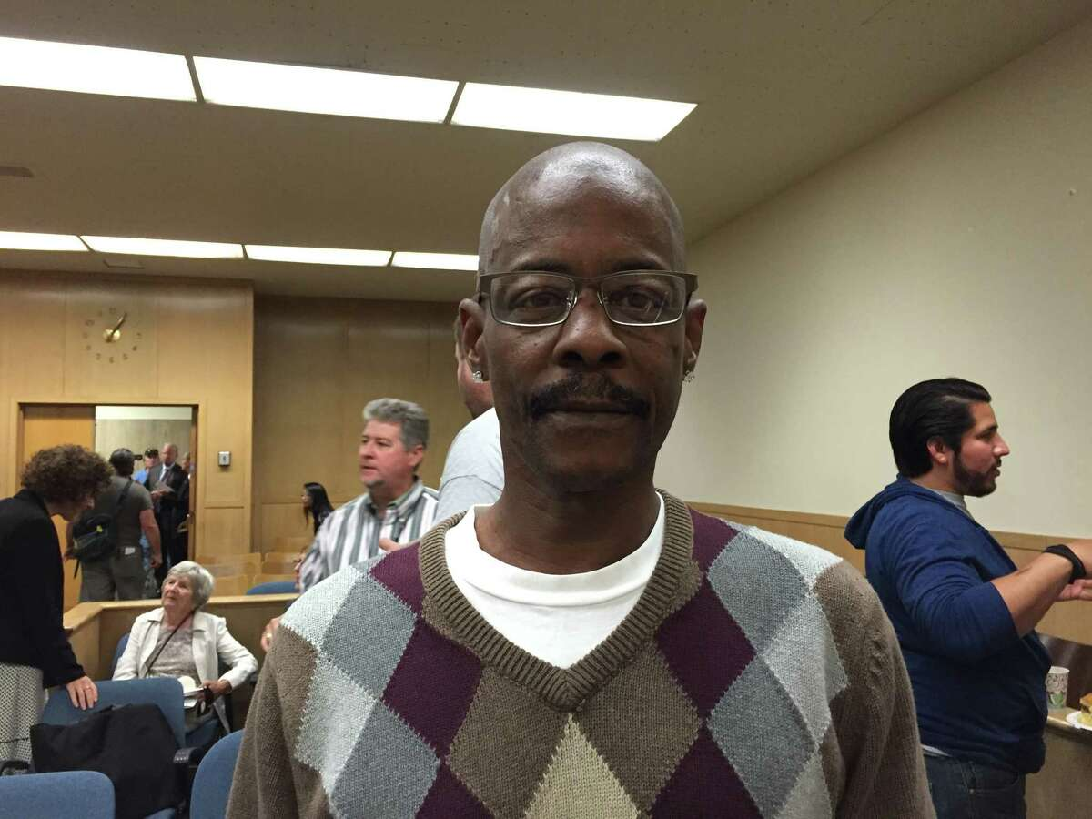 U.S. Army veteran Kevin White said he's been in and out prison for 20 years, but on Friday he celebrated his completion of the Veterans Justice Court program that has enabled him to stay sober for a year now.