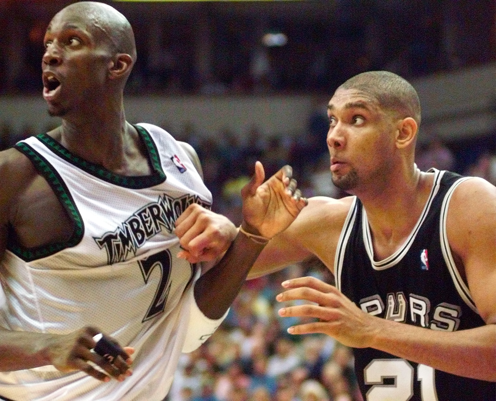'Timmy would hit you in phrases': Kevin Garnett described Tim Duncan's trash talk