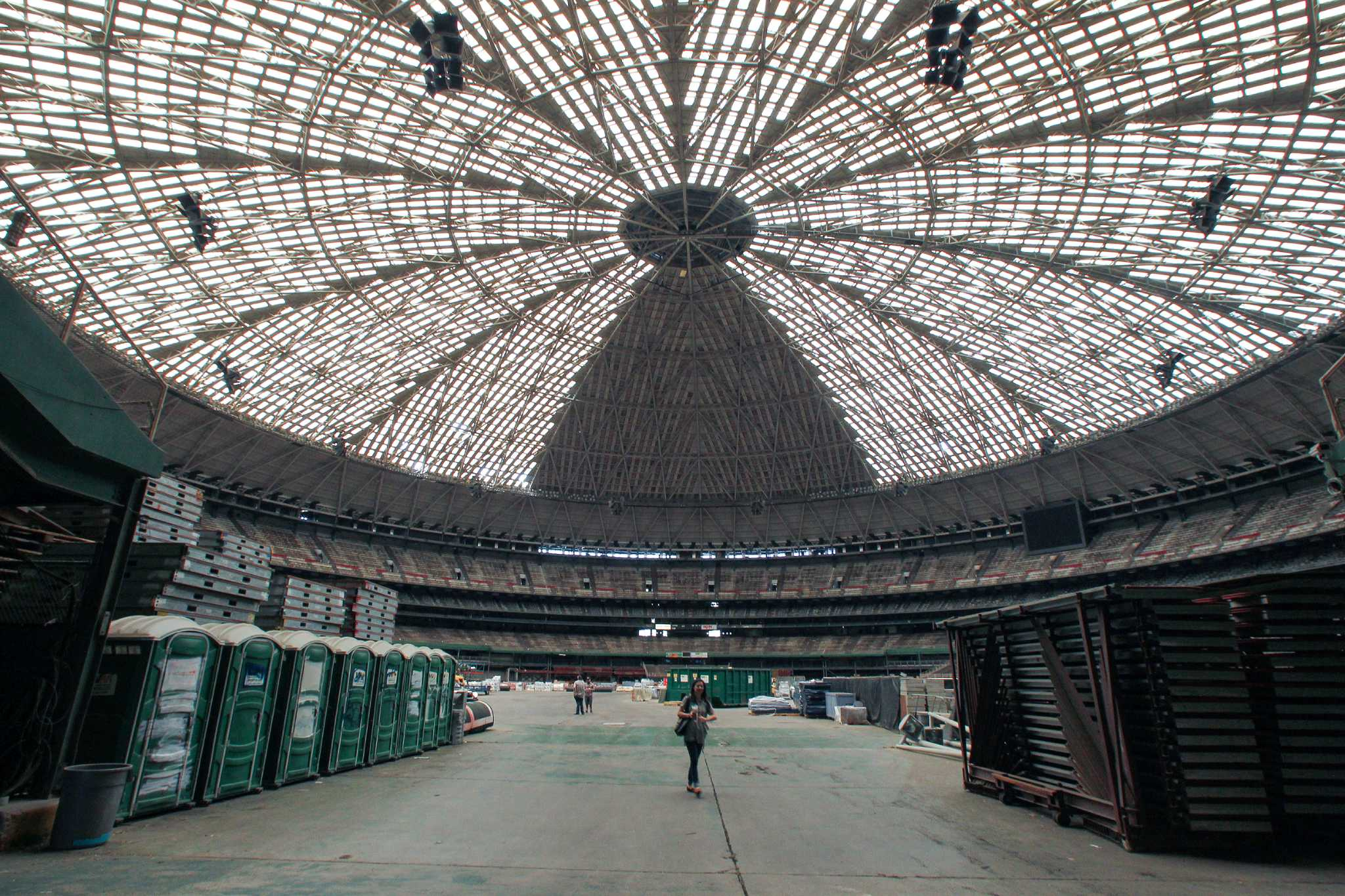 105m Plan Could Be Dome S Saving Grace Houstonchronicle Com