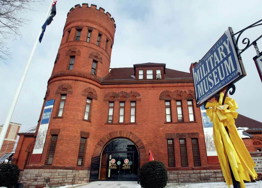 In this Dec. 16, 2010 photo, the New York State Military Museum is seen in Saratoga Springs, N.Y. New York state contributed 448,000 troops and $150 million to the Union cause during the Civil War, not to mention untold tons of supplies, food, guns and munitions. But with the 150th anniversary of the war's start just months away, New York state government has so far failed to scrounge up a single Yankee dollar to commemorate a conflict it played such a major role in winning. (AP Photo/Mike Groll) Photo: Mike Groll / AP