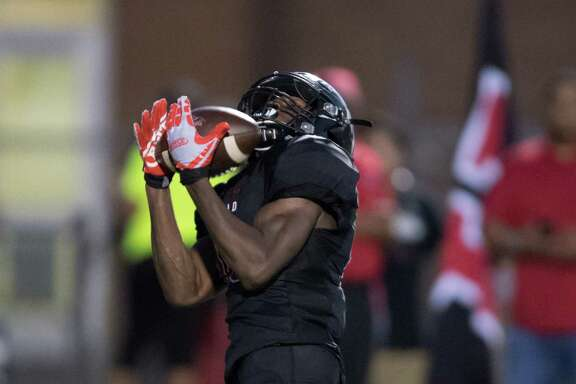 Shaun Lewis' 41-yard touchdown catch in the first quarter extended Westfield's lead in a 46-13 win over Spring on Friday night at George Stadium.