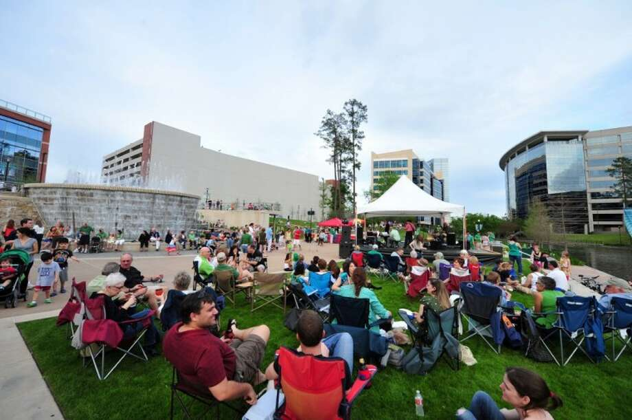 "The popular concert series ""Live at Night"" returns this Spring to Waterway Square in The Woodlands with live outdoor music every Saturday March 2 through April 27 from 6 to 8 p.m. Photo: DERRICK BRYANT PHOTOGRAPHY"