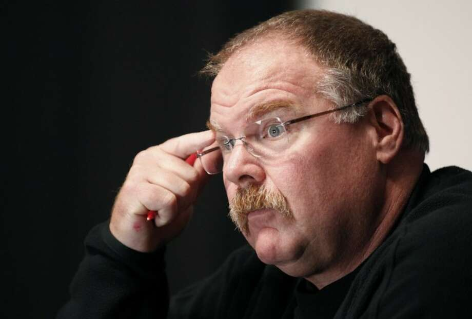 Former Eagles coach Andy Reid has agreed to terms with the Kansas City Chiefs. Photo: Alex Brandon
