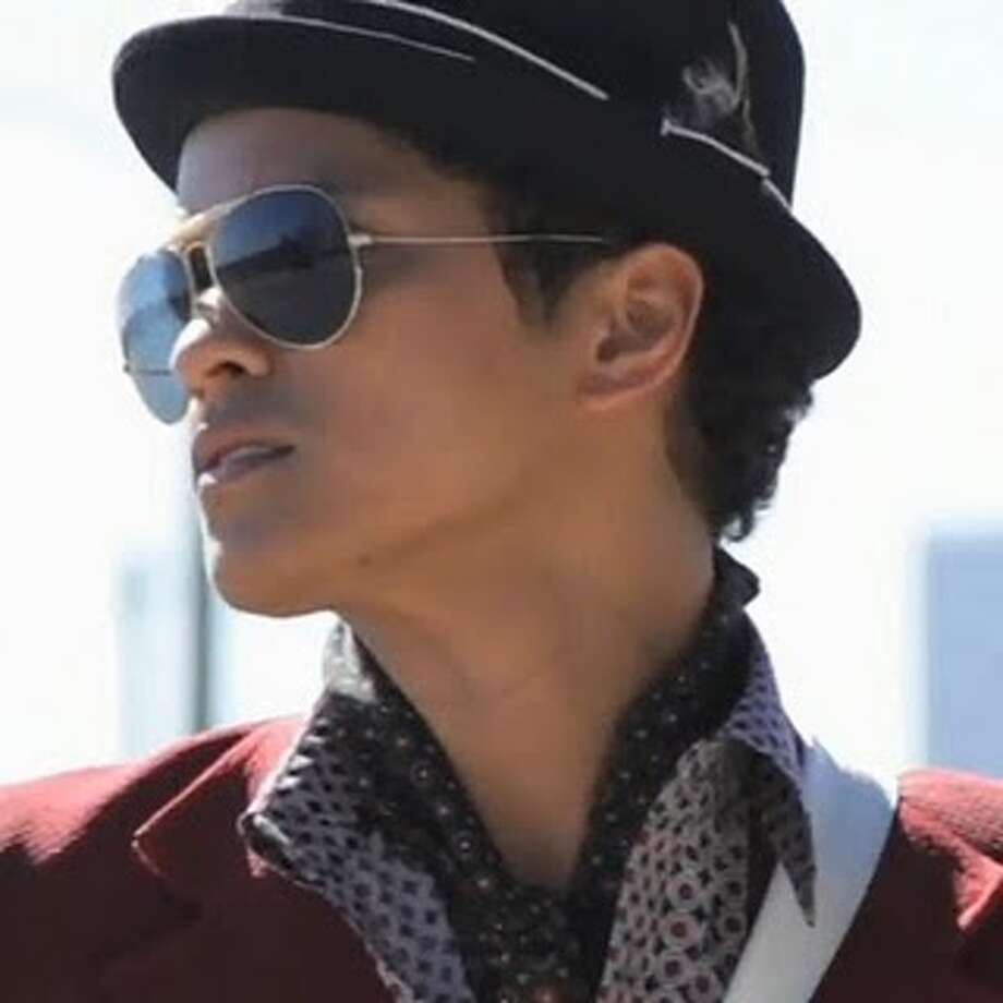 Pop musician Bruno Mars performs March 7 at the Houston Livestock Show and Rodeo.