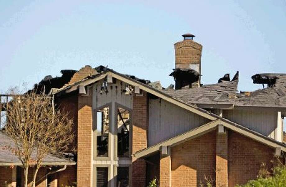 An attic fire totaled a Walden home on Lake Conroe early Sunday morning, one of three structure fires in a three-hour span in Montgomery County. This fire, located on La Jolla Circle, did not cause any injuries, but resulted in the deaths of three family cats.