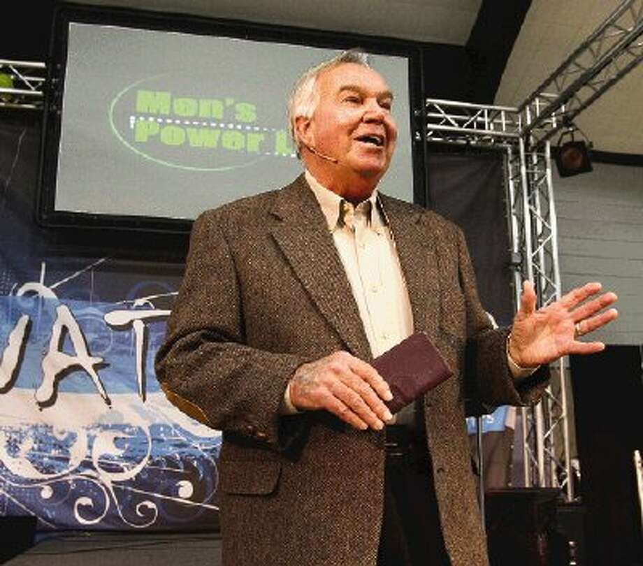 New York Yankee World Series MVP Bobby Richardson was the featured speaker at the Men's Power Lunch on Monday in Conroe.