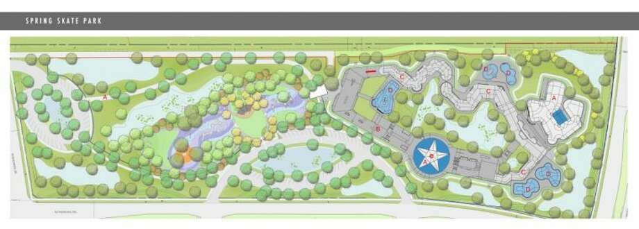 """Construction will begin soon on a world-class skate park and """"park without limits"""" for special-needs children in Spring by the end of January. The $5.5 million skate park will feature about 72,000 square feet of skate surface, along with competition-scale amenities and large viewing areas. The """"park without limits,"""" known as Dylan's Park, will have areas focused on engaging children with special needs, such as autistic children, sight-impaired, hearing-impaired, or wheelchair-bound children. Greenspoint Redevelopment Authority is looking to have the park open in mid-2014."""