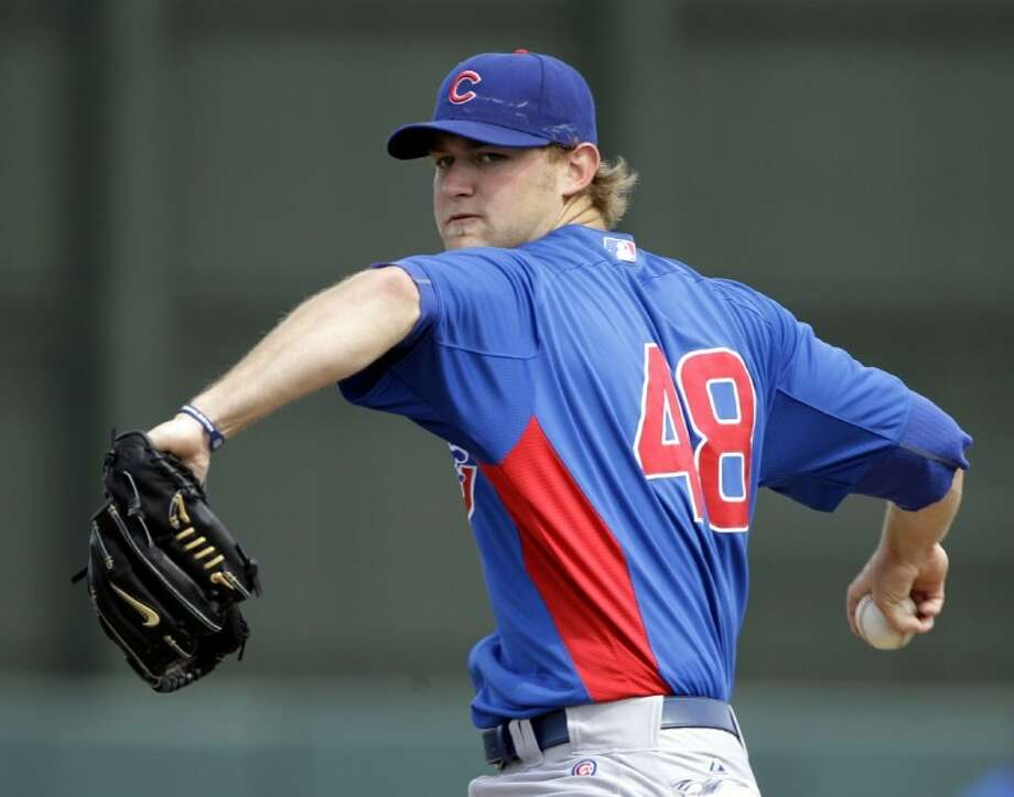 Chicago Cubs starting pitcher Andrew Cashner, a 2005 graduate of Conroe High, was traded to the San Diego Padres in exchange for first base prospect Anthony Rizzo on Friday. Photo: Anonymous