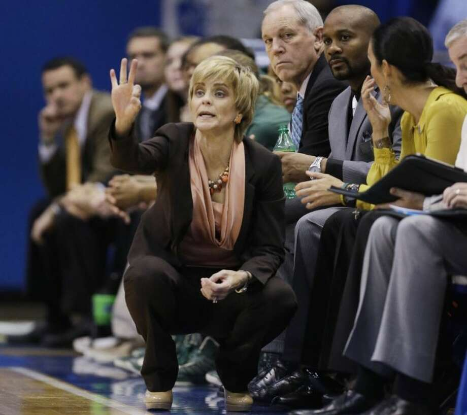 Baylor women's coach Kim Mulkey has her team poised for another national championship run. Photo: Orlin Wagner / AP2013