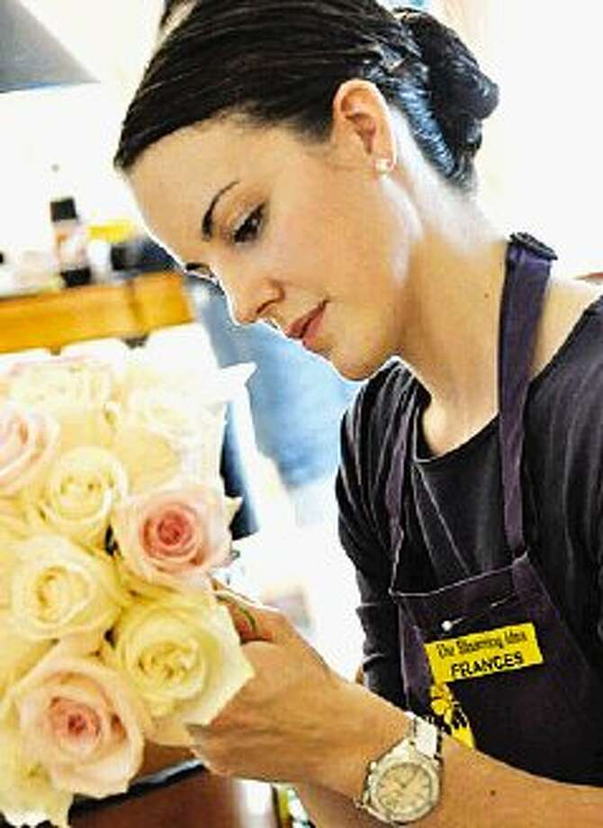 Blooming Ideas flower shop will be one of the booths at the Dream Weddings Bridal Show Jan. 29-30.