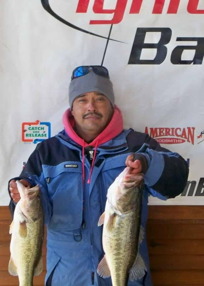 Juan Monroy won the Ignition Bass Individual Tournament No. 1 on Sunday as the wind blew 20-25 mph with a stringer weight of 17.72 pounds.