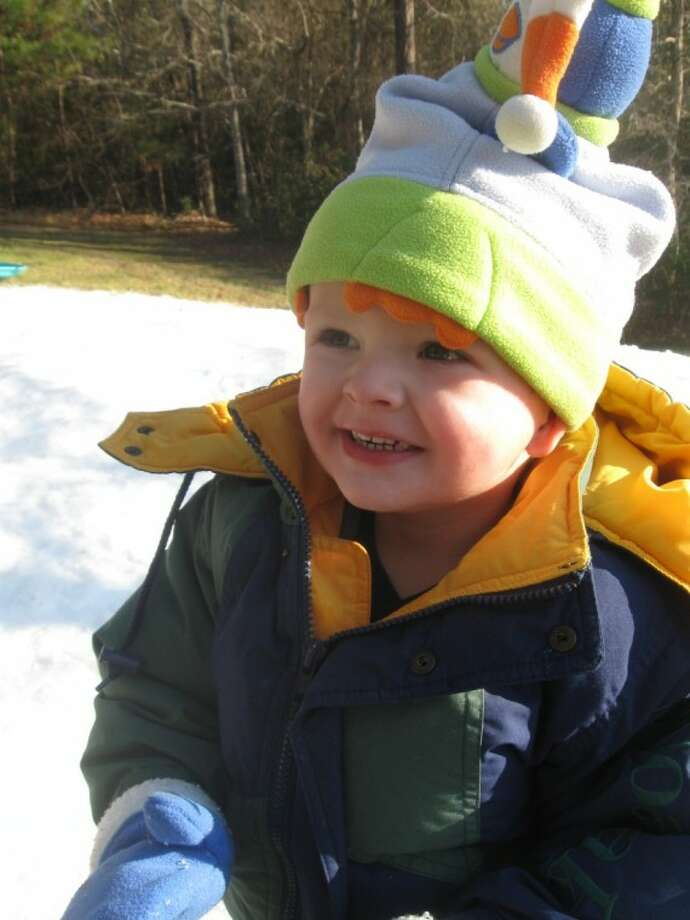Children enjoyed St. James Episcopal School's Snow Day.