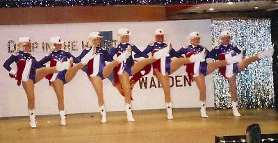 The kickline is one of the most popular segments of the annual Famous Walden Follies.