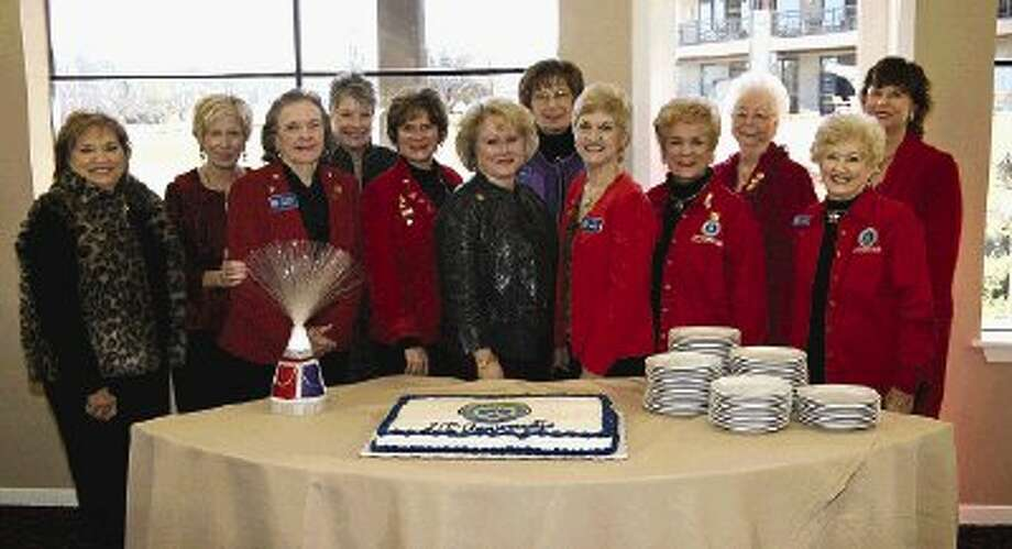Twelve of the past presidents of the Lake Conroe Area Republican Women were honored at the 20th anniversary celebration of the organization Thursday.