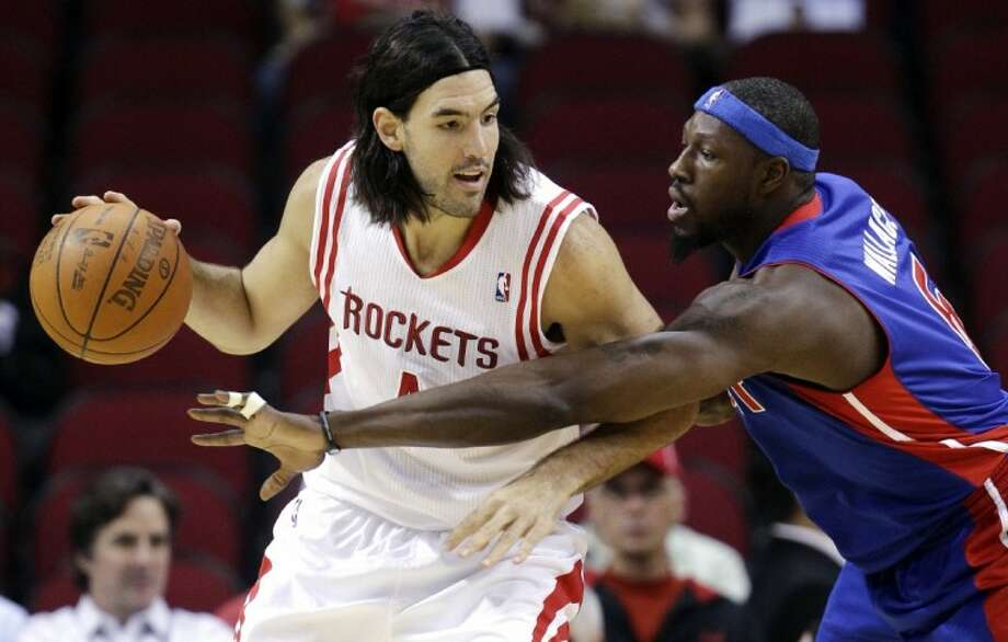 Should the Houston Rockets consider trading players like Luis Scola away? Photo: David J. Phillip
