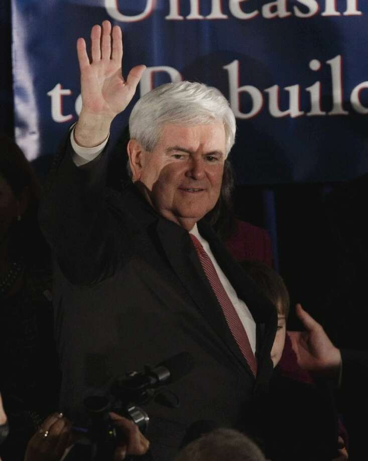GINGRICH Photo: Paul Sancya