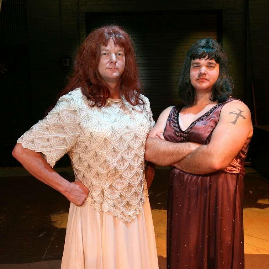 """Leading Ladies"" Owen Theatre Last shows tonight, Saturday"